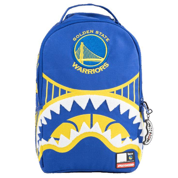 SPRAYGROUND Golden State Warriors Shark Mouth Backpack | Blue (9100B905NSZ)