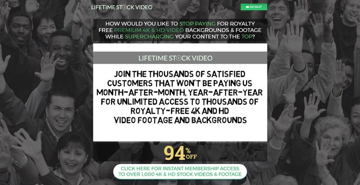 Lifetime Stock Video for $67 http://onlylifetimedeals.com/deal/lifetime-stock-video-67/ https://player.vimeo.com/video/228965505?autoplay=1&loop=0   Are You Tired of Paying $10 – $199 per Stock Video?     Millions of customers think it's the only way to get royalty free stock videos      Are you one of the endless stream of customers that has paid between $10 and...