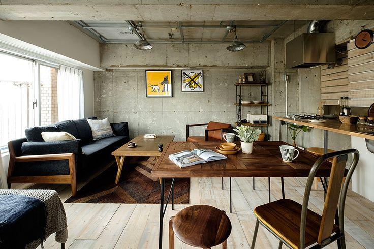 インテリアコーディネート・空間デザイン実例 069 L I B E R T Y | おしゃれ家具、インテリア通販のリグナ