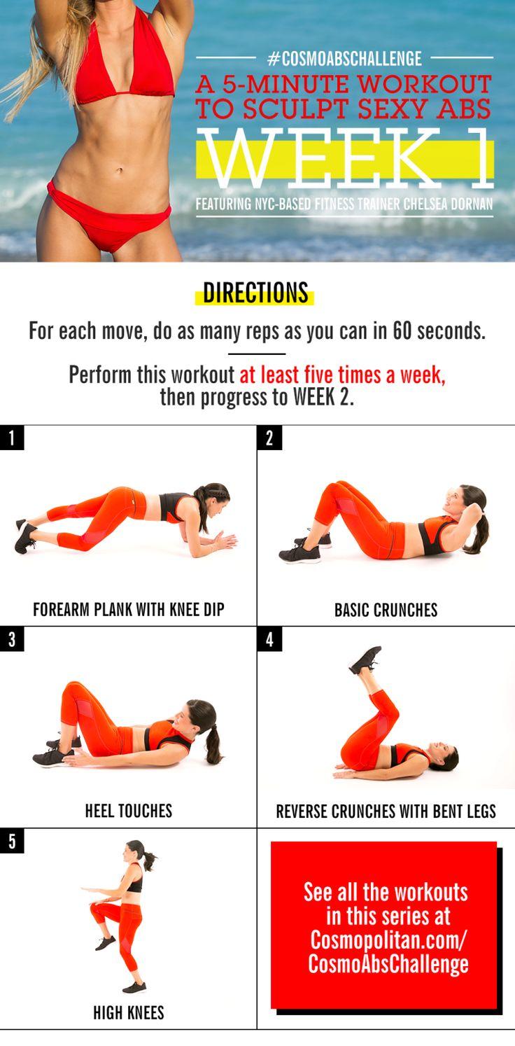 Flat Tummy Exercises In 2 Weeks | www.pixshark.com ...