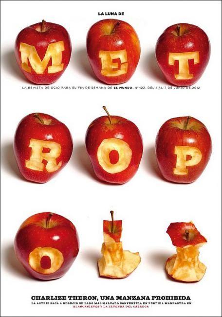 "cMag228 - (La Luna de) Metropoli Magazine ""Snow White and the huntsman"" cover by Rodrigo Sánchez / June 2012"