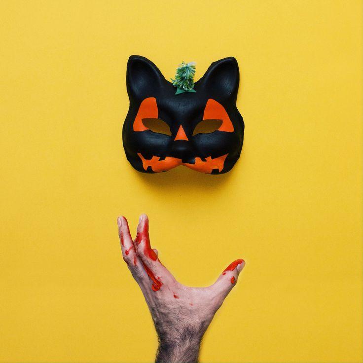 Straszna maska dopełni halloweenowy strój. #tigerhalloween #tigerstores #tigerpolska #tiger #tigersklep #halloween #maska #mask #kot #cat #diytiger @josearoda