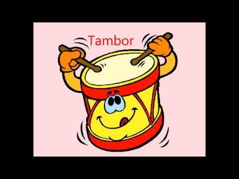 Los Instrumentos musicales para niños. Sonidos.Videos para niños - YouTube