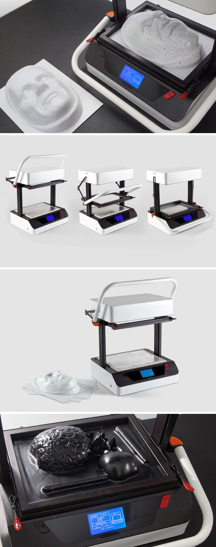 The world's first digital desktop vacuum former has arrived!