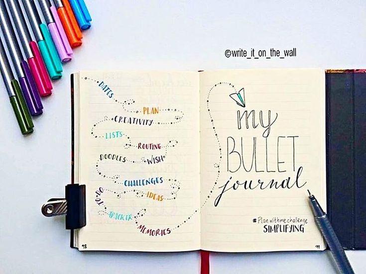 #bujo / bullet journal