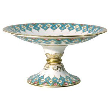 Check out this item at One Kings Lane! Antique Porcelain Floral Compote