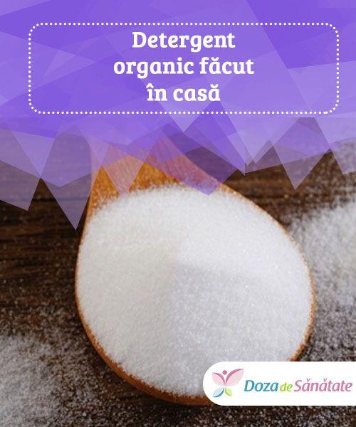 Detergent organic făcut în casă  Cu toții știm că substanțele chimice din componența balsamurilor și a detergenților pe care îi folosim zilnic sunt foarte nocive pentru mediul înconjurător.