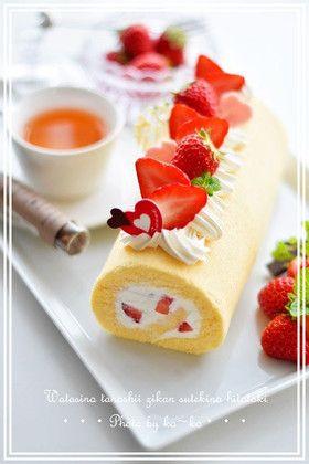 Yummy cake roll