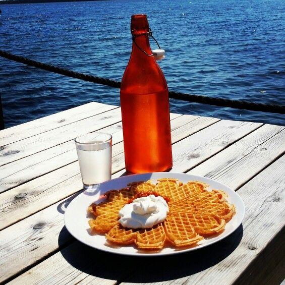 Våffelfrukost #Lergrav