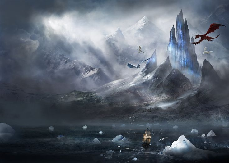 Crystal City Towers Fantasy Art