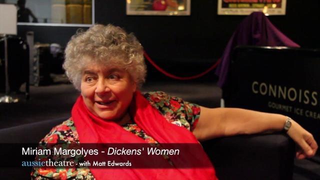 Miriam Margolyes in Dicken's Women