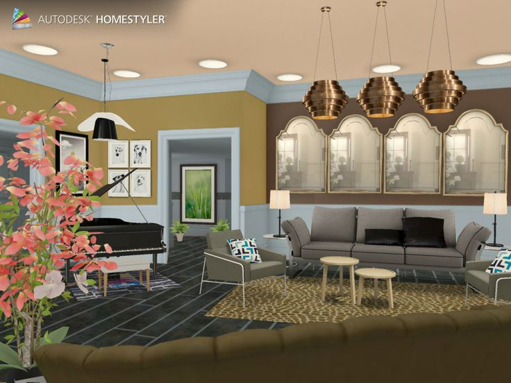 """Check out my #interiordesign """"Living room"""" from #Homestyler http://autode.sk/1d5hvsP"""
