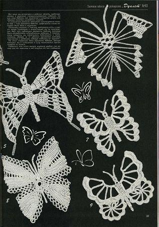 Duplet 93 Russian crochet patterns magazine