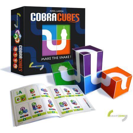 [PnP] SMART ZONE Cobra Cubes (Собери Змею) 6+ (головоломка)