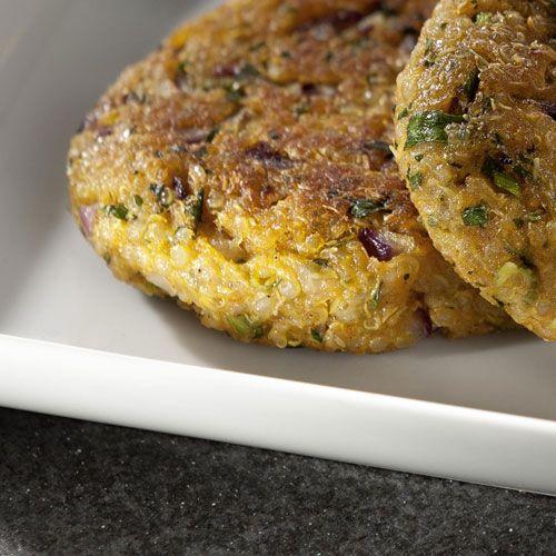 Rezept aus VEGAN FOR FIT: Quinoa-Buletten (Attila Hildmanns 30-Tage-Challenge)