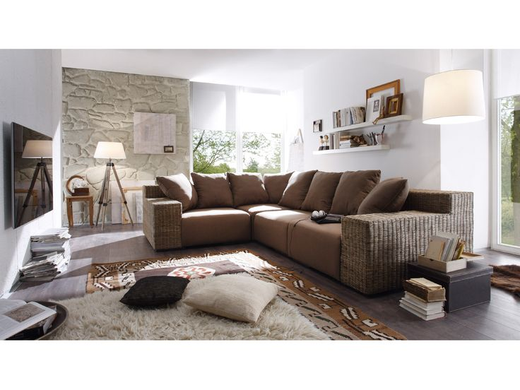 62 best Sofas, Sessel \ Lounger images on Pinterest Canapes - wohnzimmercouch braun