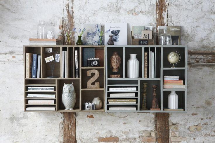 Stunning praxis maak je eigen boekenkast with steigerhout for Steigerhout praxis