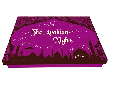 # box #sheherazade #bedtimestories #arabiannights Let yourself be carried away into a fascinating world of dreams, suspense and magic! These ancient stories have been handed down through the ages and continue to fascinate both children and adults alike. This beautiful box contains 6 little books with the stories Scheherazade told the sultan during the 1001 Nights following her wedding.