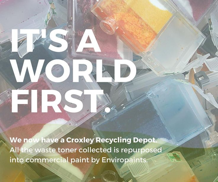 What happens to the old cartridges? Well lucky you asked...http://www.croxleyrecycling.co.nz/