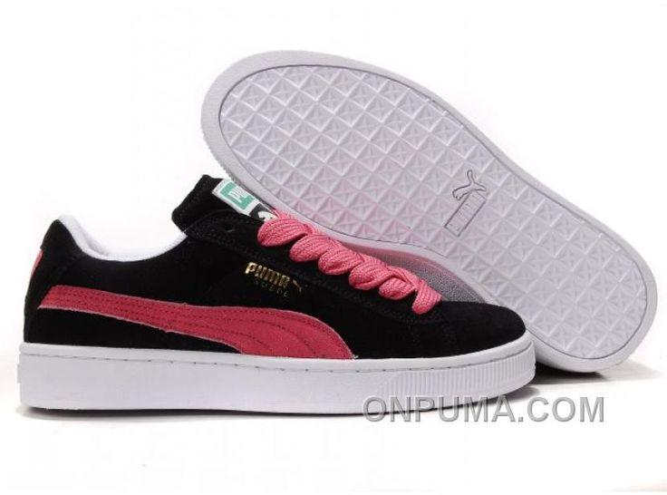 http://www.onpuma.com/puma-the-suede-trainers-black-pink-discount.html PUMA THE SUEDE TRAINERS BLACK PINK DISCOUNT Only $69.00 , Free Shipping!
