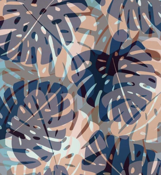 "By Aubrie Beardsley Aubrie_Designs (@aubrie_designs) on Instagram: ""#Summer #leaves #artist #fashionblogger #ig_color #artwork #creative #styles #designs #tropical…"""