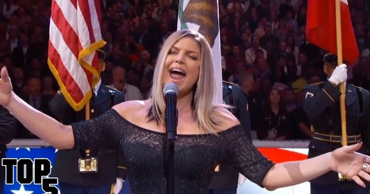"""National Anthem Fails.:Being asked to sing the national anthem live at a sporting event is a huge honor unfortunately sometimes the performances don't go over as well as expected and that's we're gonna be talking about today hey Website welcome back to the """"World Remark"""" amazing top 5 before we get started Top 5National Anthem FailsI want to know who is your favorite singer and why lemon area answer is down in the comments also I have a challenge for you guys let's try to best.  Top 5…"""