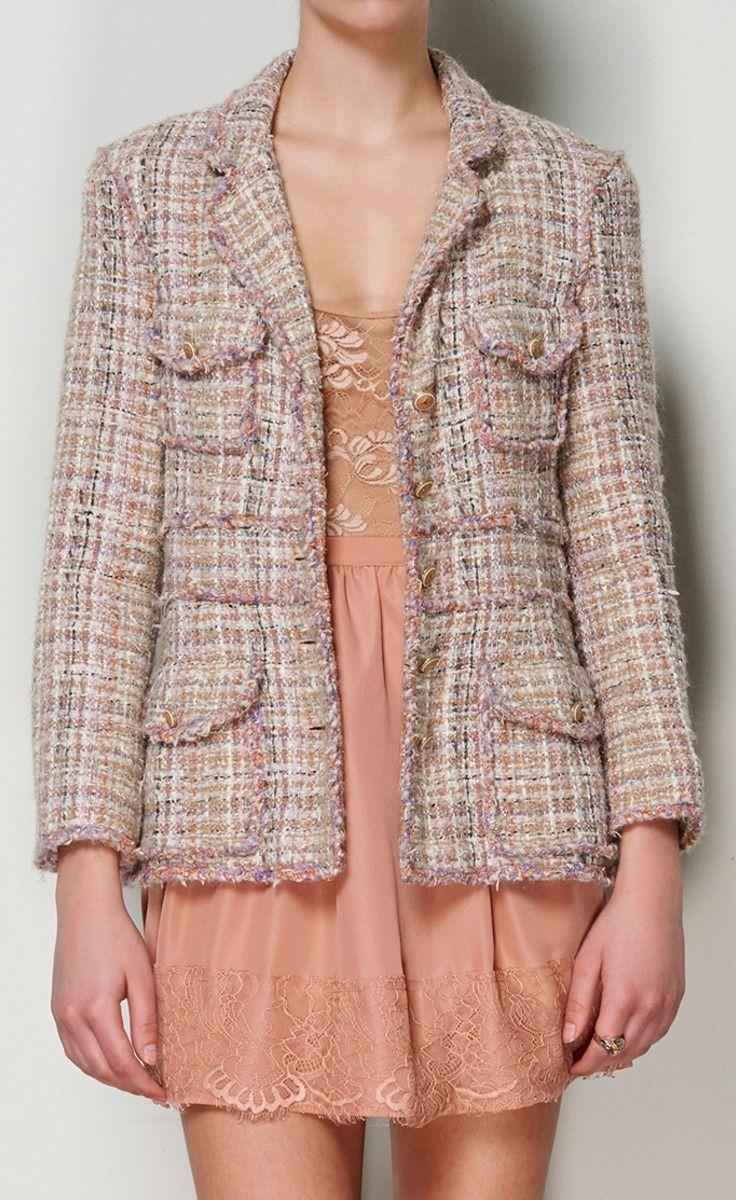 Chanel Pink Jacket.