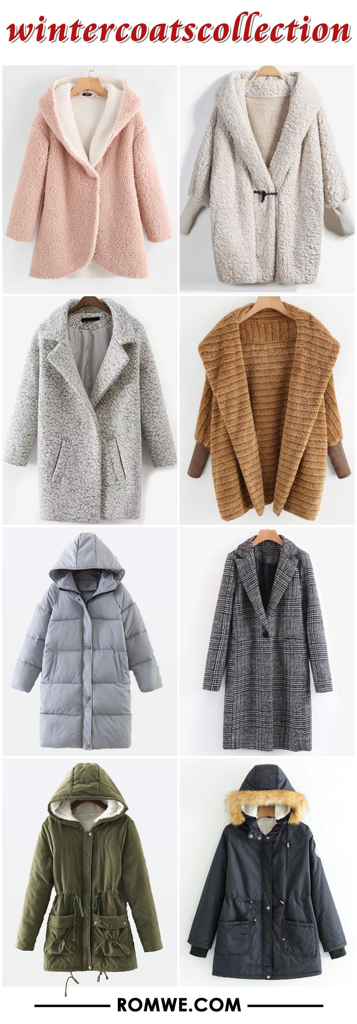 winter coats collection from romwe.com