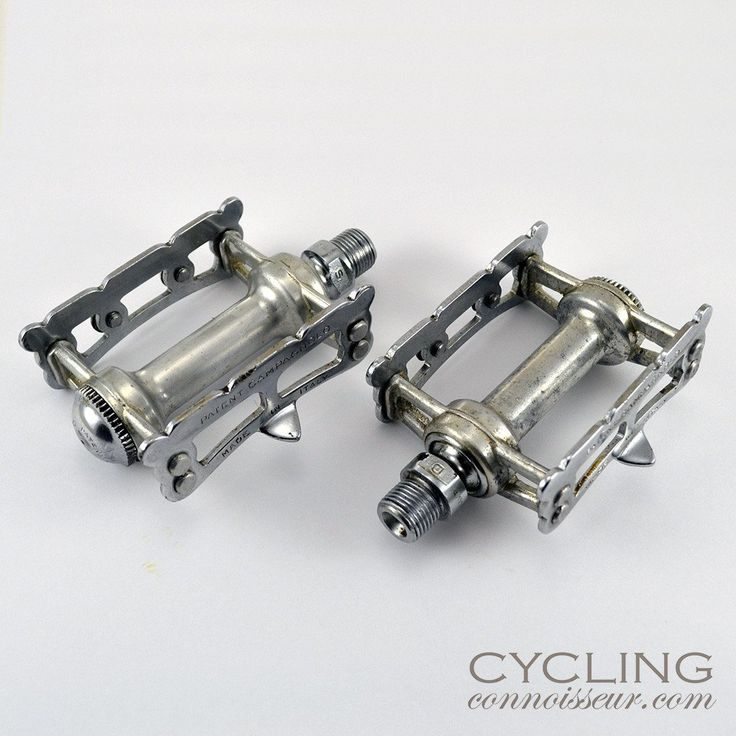 Campagnolo Pista Track Pedals found on cyclingconnoisseur.com
