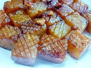 Fried garlic soy sauce spicy konjac