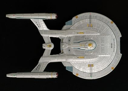 NX class vessel.  Earth's First Warp 5 Capable Starship.  Starfleet existed well before the founding of The United Federation of Planets.