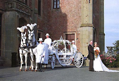 Horse and Glass Cinderella Pumpkin Carriage Hire Birmingham | Flickr - Photo Sharing!