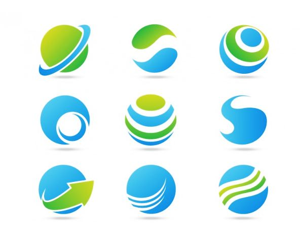 Versatile logo with different situations
