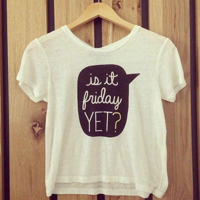 Monday morning thoughts...aren't you loving this tee from Bethany Mota's collection?! #fashion #styleinspiration