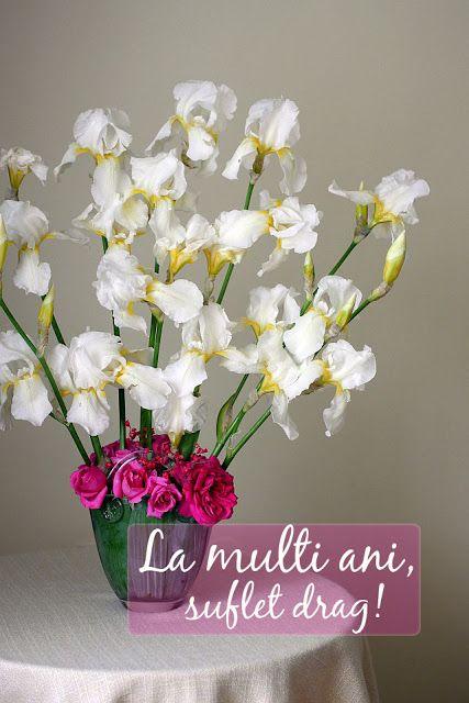 #mesaj #lamultiani #sufletdrag #buchetdeflori #irisialbi #trandafiriroz #byjurnalcuflori