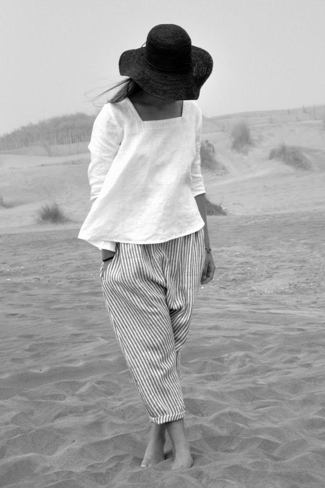 BLOG VDJ - light, summery outfit although I'd prefer longer pants for my taste.