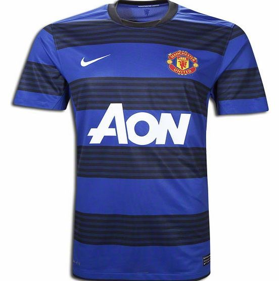 Man Utd Away Shirt Nike 2011-12 Man Utd Away Nike Football Shirt Brand new officialMan Utd away shirt for the 2011/12 Premiership season available to buy in adult sizes S M L XL XXL XXXL. This football shirt is manufactured by Nike and is blue and black in  http://www.comparestoreprices.co.uk/football-shirts/man-utd-away-shirt-nike-2011-12-man-utd-away-nike-football-shirt.asp