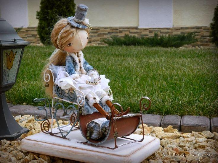Примитивная кукла: интерьерные куклы - тыквоголовки Елены Коган . Обсуждение на LiveInternet - Российский Сервис Онлайн-Дневников