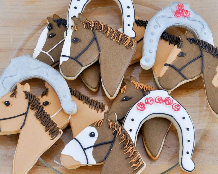 decorating horse head cookies - Google Search