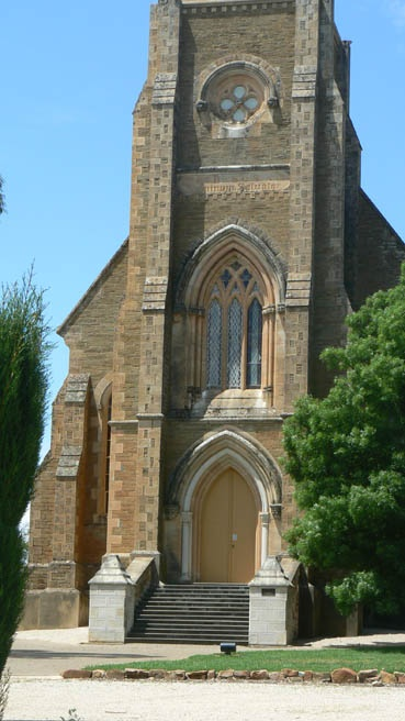 St Aloyisius Church of the Jesuits at the Sevenhill Winery in Clare Valley, South Australia