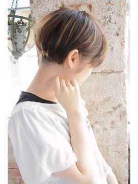 【+~ing】 ツーブロックのバックシルエット【畠山竜哉】 - 24時間いつでもWEB予約OK!ヘアスタイル10万点以上掲載!お気に入りの髪型、人気のヘアスタイルを探すならKirei Style[キレイスタイル]で。