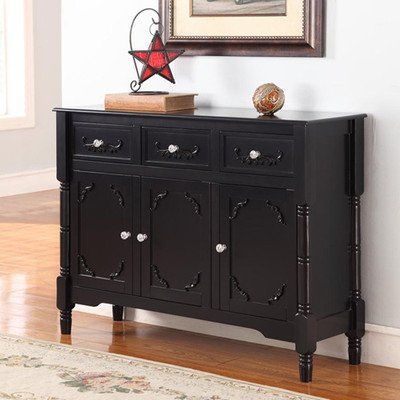 Console Table Finish: Cherry