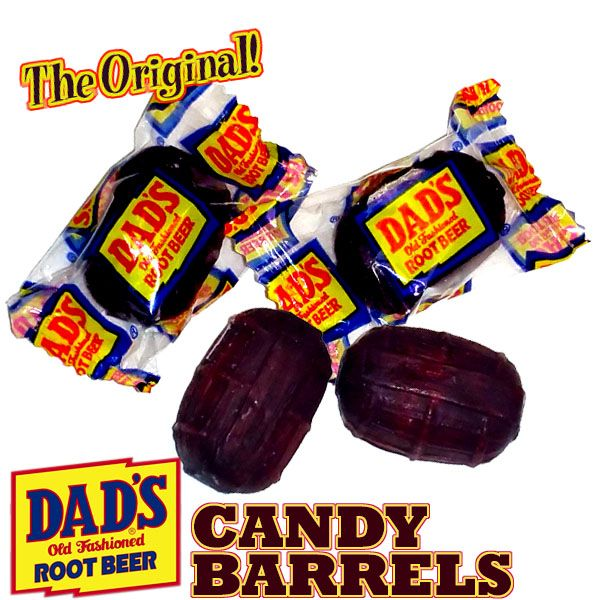 The Original Dad's Root Beer Barrels made fresh from 1LB to a case.