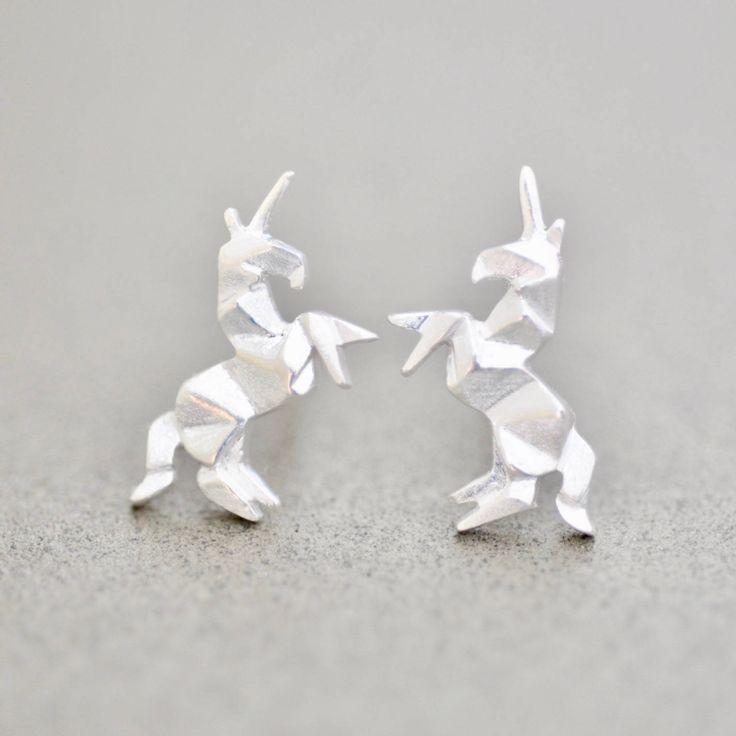 Matching Unicorn Earrings are now available!  http://etsy.me/2nKQfYt