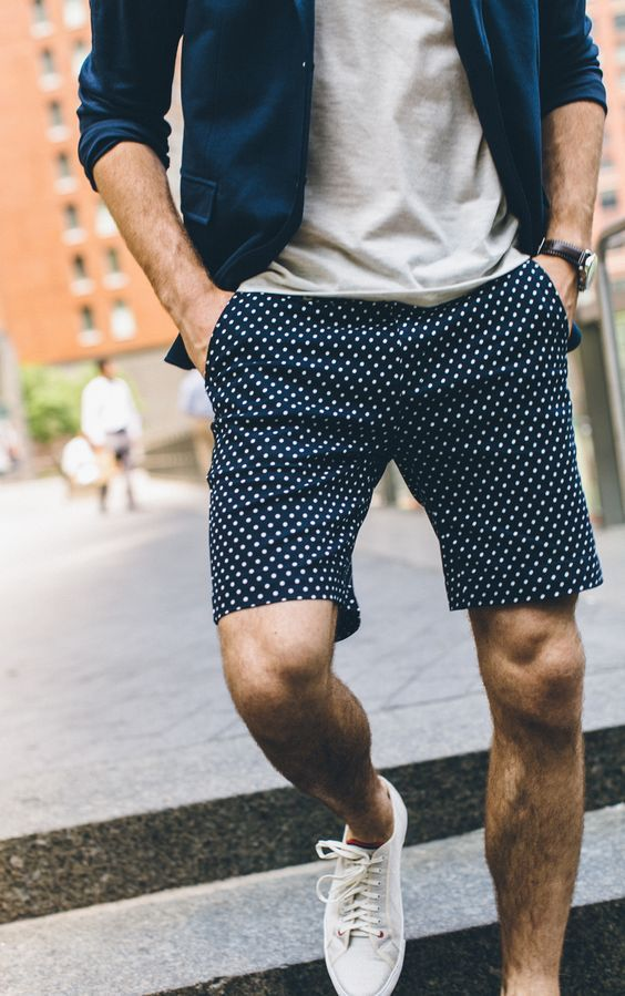 Printed Shorts is the new cool...
