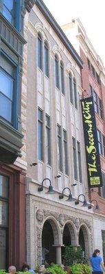 The Second City Comedy Club on Wells Street in the Old Town neighborhood.