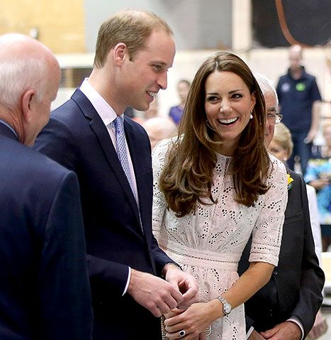 Kate teased Prince William about his bald spot when the two visited the Sydney Royal Easter Show on April 18