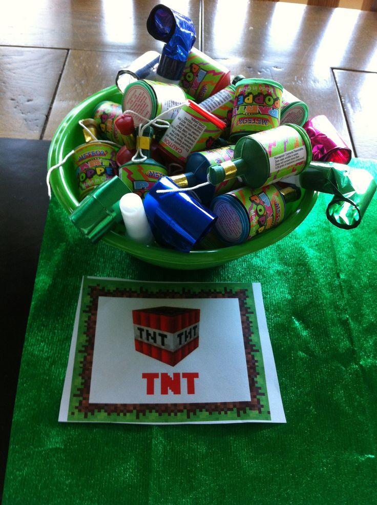 Mine craft TNT