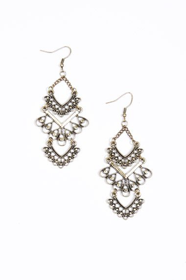 Filigree Chandelier Earrings at Urban Outfitters
