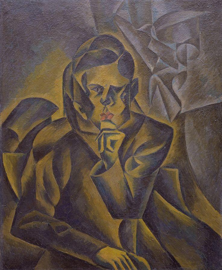 Bohumil Kubišta (1884-1918) - Portrait of Jan Zrzavý, 1912